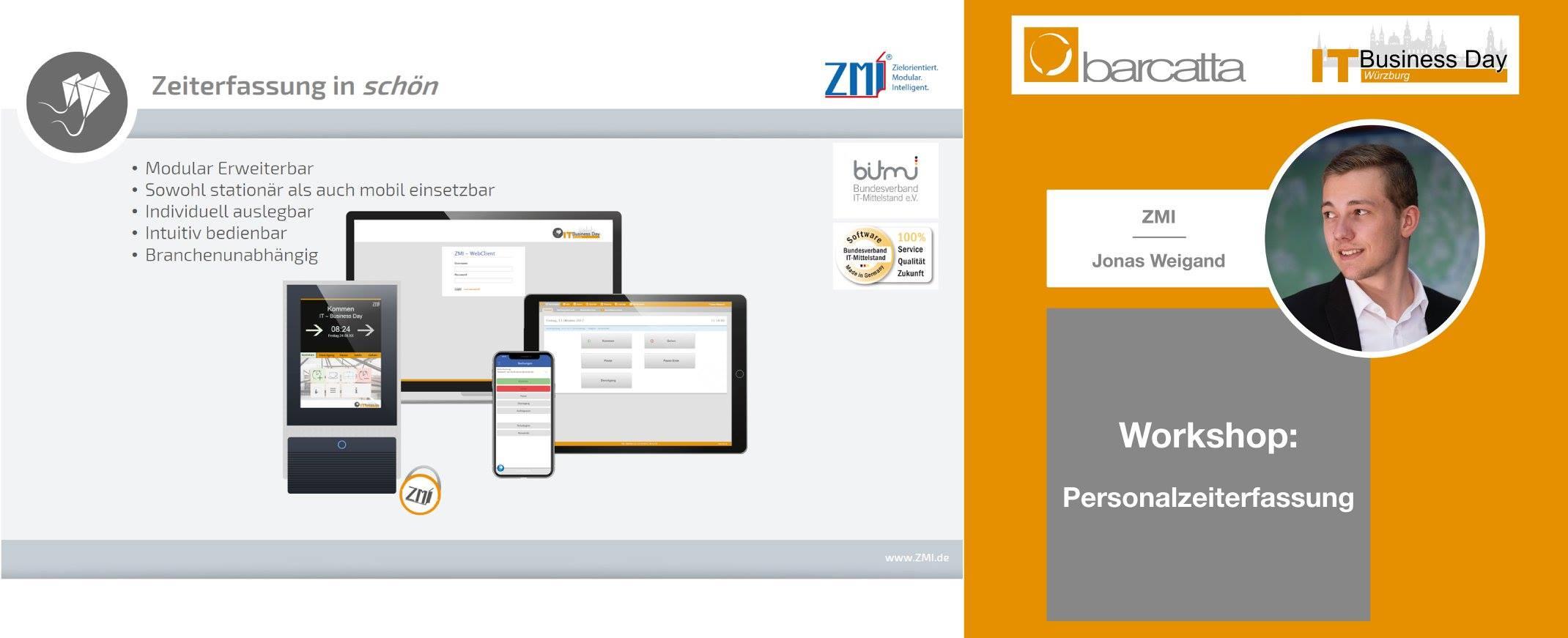 Barcatta IT Business Day - Personalzeiterfassung Workshop