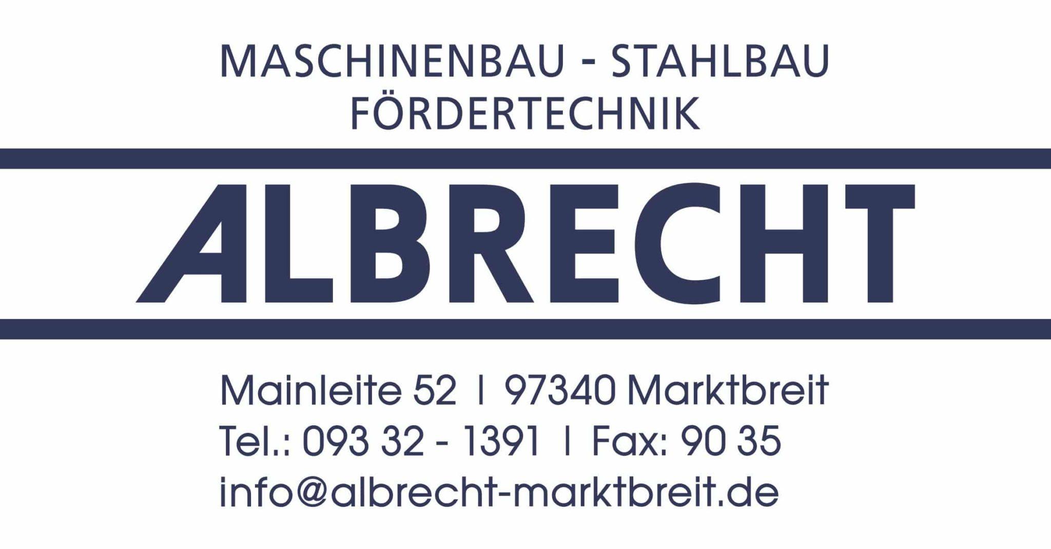 Logo Albrecht GmbH
