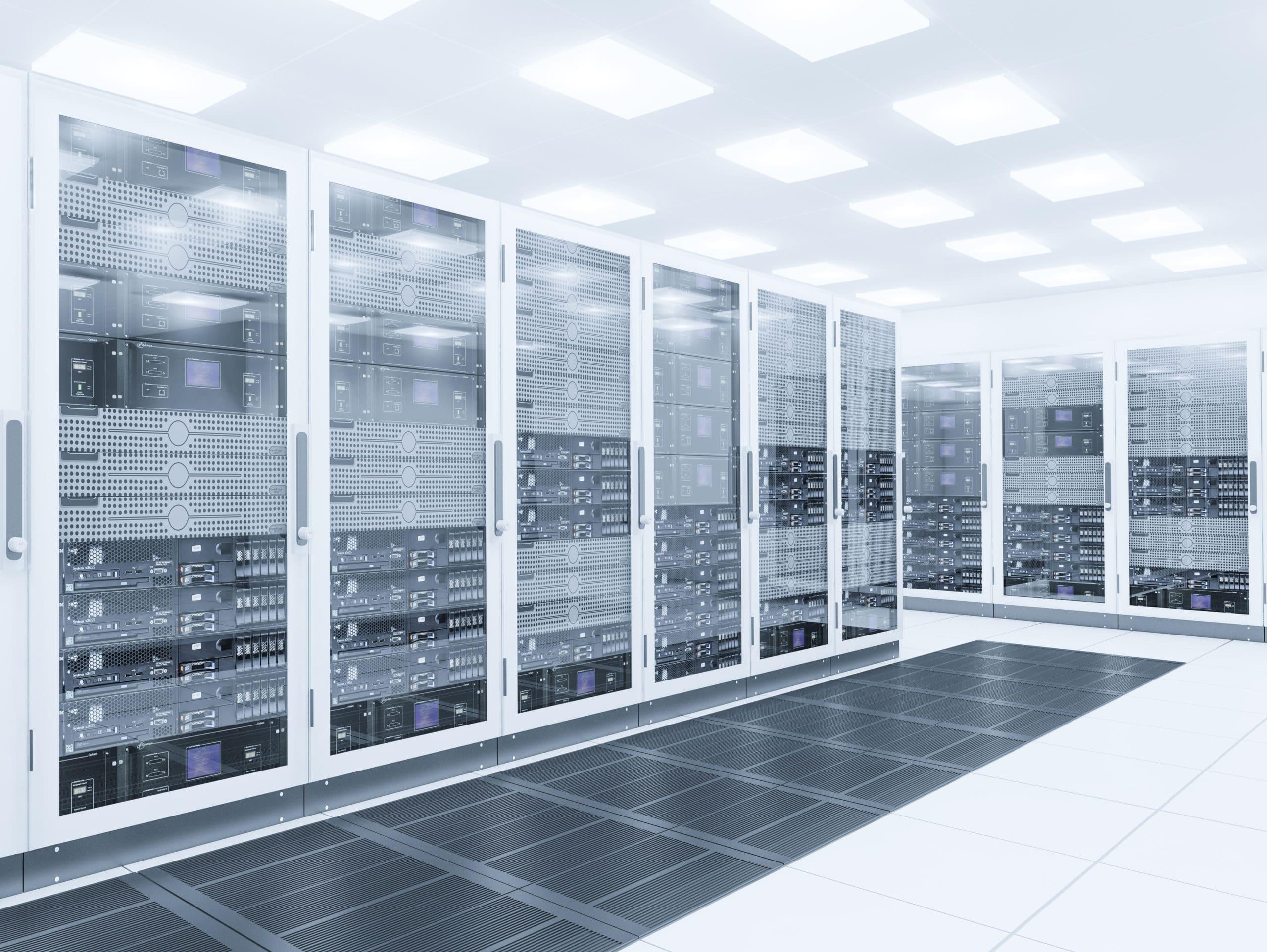 Cloud Serverraum