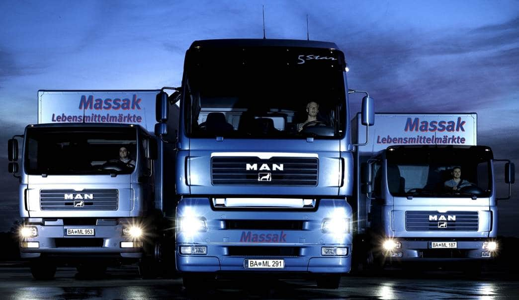ZMI Referenzkunde Massak Logistik GmbH Fahrzeuge