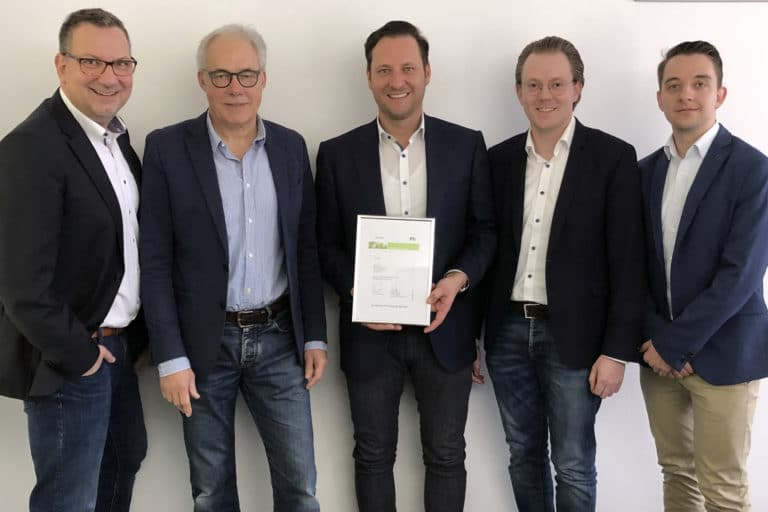 ZMI PCS Excellence Partner Auszeichnung