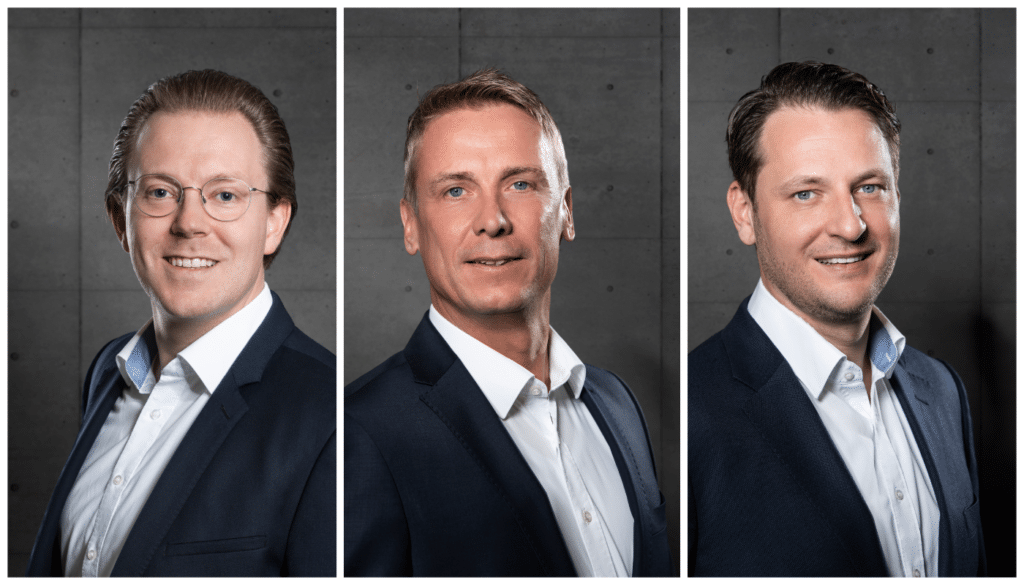 Jonathan Martin, Steffen Berger, Daniel Vogler