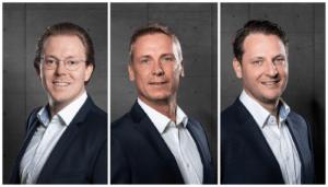 ZMI Geschäftsführer Jonathan Martin, Steffen Berger, Daniel Vogler